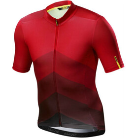 Mavic Cosmic Gradiant SS Jersey Herren red